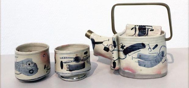 Nicht von dieser Welt: Teeset von Pit Arens